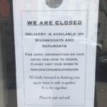 Oak Pizzeria Door