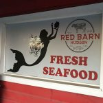 Red Barn Sign