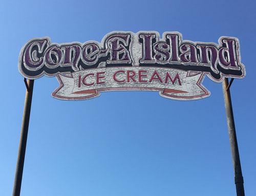 Cone-E Island Ice Cream
