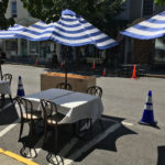 Swoon – outdoor dining
