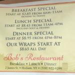 Bob's Restaurant, Hudson, NY