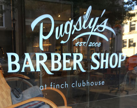 Finch Clubhouse - Pugsly's Barbershop