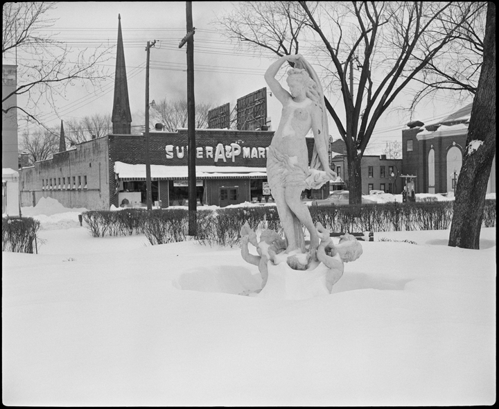 7th Street Park Statue - Hudson, NY