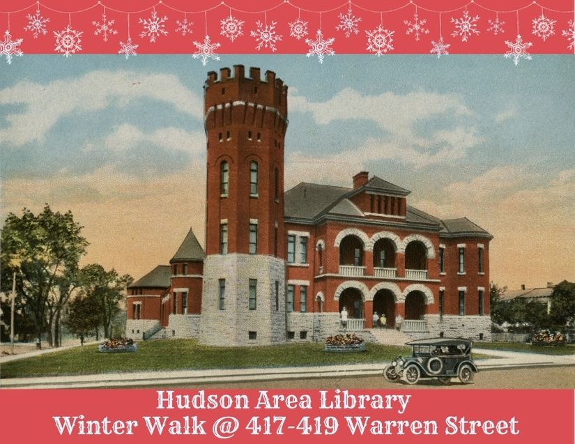 Hudson Area Library - Winter Walk 2020